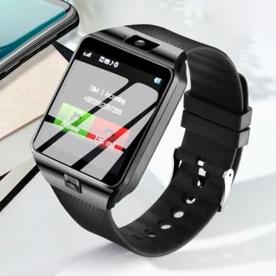Smartwatch DZ09 watch SIM and TF card holder