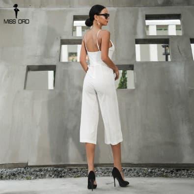 Pants jumpsuit backless Sleeveless