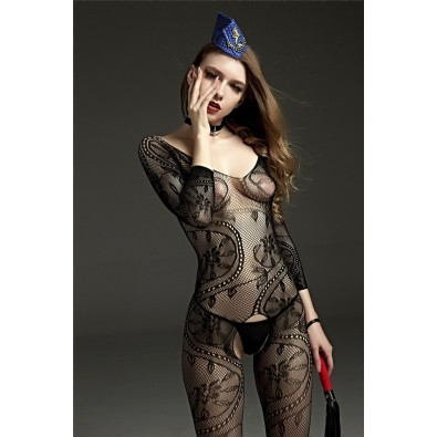Sexy full lace seamless jumpsuit