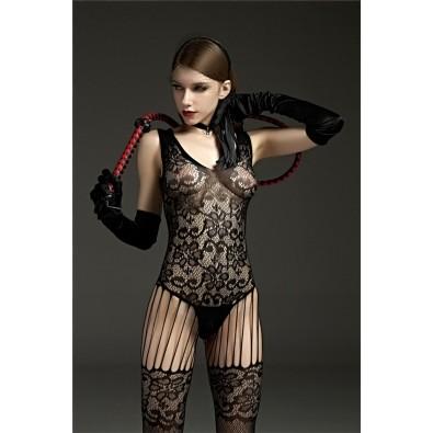 Black full lace bodysuit