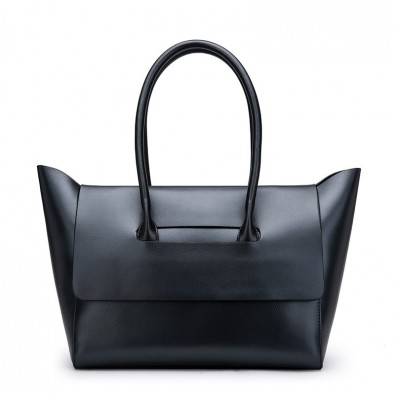 Handbag woman crust soft satin leather