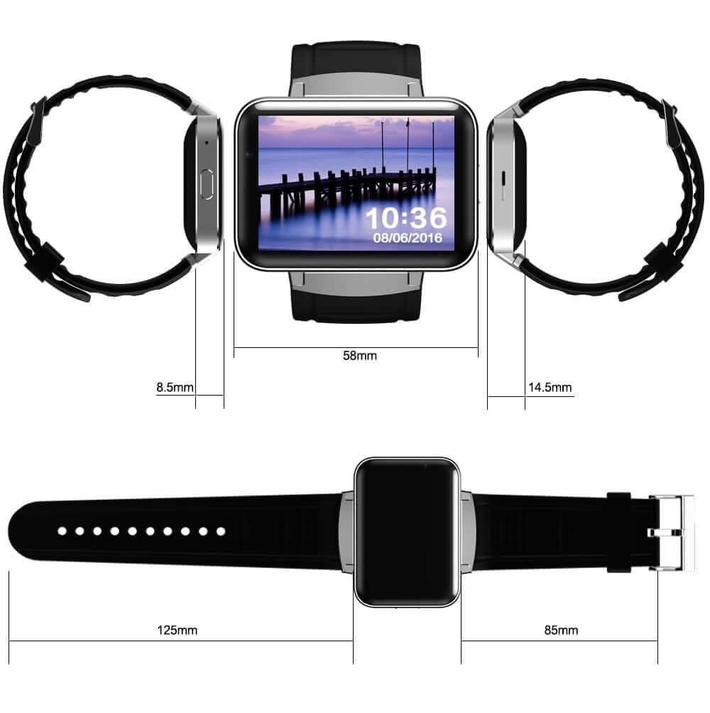 dimensions de la montre DM98